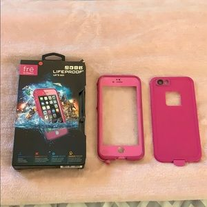 iPhone 6/6s Pink Lifeproof Case